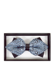 6pc Prepack Diamond Tip Banded Bow Tie DBB3030-27