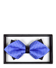 6pc Prepack Diamond Tip Banded Bow Tie DBB3030-15
