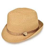 "2"" Brim Fedora Hat H8705"