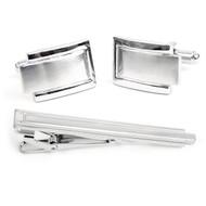 Cufflink and Tie Bar Set CTB2090