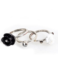 6pc Pack Size Ring Rose IMLR0329