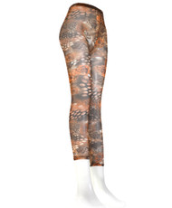 6pc Ladies Ultrathin Footless Printed Tights L800707