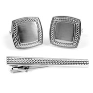 Cufflink and Tie Bar Set CTB672