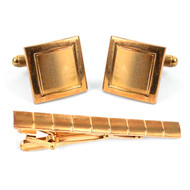 Cufflink and Tie Bar Set CTB680