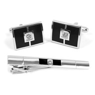 Cufflink and Tie Bar Set CTB682