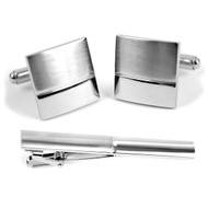 Cufflink and Tie Bar Set CTB670