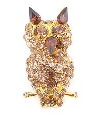 Brooch - Owl Gold IMBCBR0367