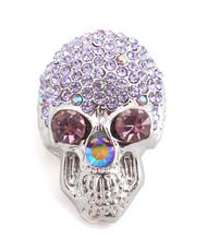 Brooch - Skull Silver IMBCBR0398
