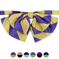Ladies Micro Fiber College Bow Ties LCB