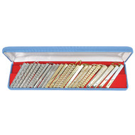 24pc Assorted Tie Bars Set TB1302A