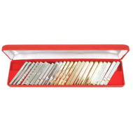 24pc Assorted Tie Bars Set TB1302C