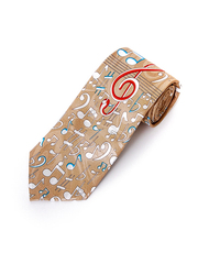 """Music Note"" Novelty Tie NV1557"