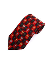 """Cross"" Novelty Tie NV4434-RD"