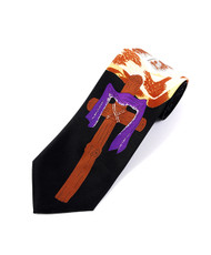 """Bible & Cross"" Novelty Tie NV13052"