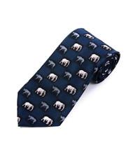 """""""Elephant & Rhino"""" Novelty Tie NV2326-NV"""