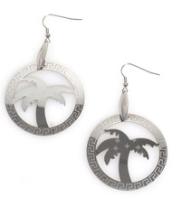 Dangle Earrings Stainless Steel - IMJS0558