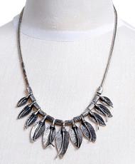 Cluster Necklace Leaves - IMJJ5630