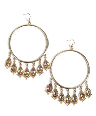 Chandelier Earrings Hoop - IMJJ2875