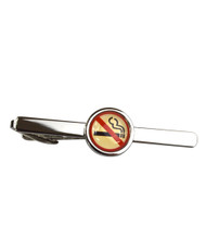 No Smoking Novelty Tie Bar TB1718