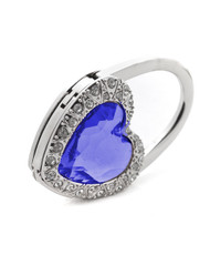 Crystal and Rhinestone Heart Folding Hanging Hook Y11016