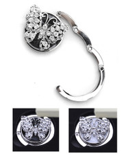 Rhinestone Butterfly Folding Hanging Hook Y11026