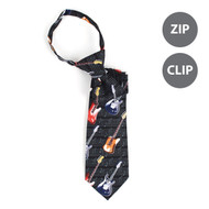 Boy's Guitar Novelty Tie BN2606-T