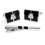 Cufflink and Tie Bar Set CTB2300