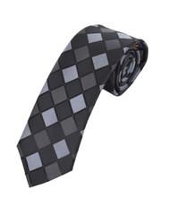 "Microfiber Poly Woven Tie SLIM 2.75"" MPWS5315BK"