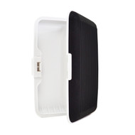 Card Guard Black Silcone Rubber Non-Slip Compact Card Holder CASE003-BK