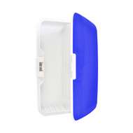 Card Guard Blue Silcone Rubber Non-Slip Compact Card Holder CASE003-BL