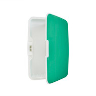 Card Guard Green Silcone Rubber Non-Slip Compact Card Holder CASE003-GN