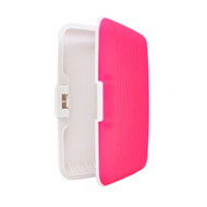 Card Guard Hot Pink Silcone Rubber Non-Slip Compact Card Holder CASE003-HPK