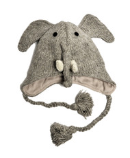 Wool Animal Hats Elephant - AHW500