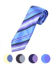 "Microfiber Poly Woven Tie SLIM 2.75"" MPWS5231"