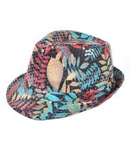 6pc Sequin Fedora Hat H10246577