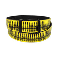 12pc Men's Ammunition Round Buckle Belts