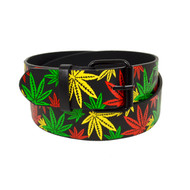 12pc Men's Plants Buckle Belts