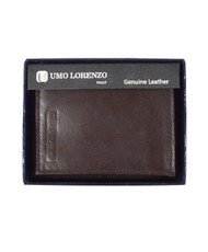 Hipster Leather Bi-fold Vertical MGLW309BR