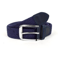 Men's Blue Braided Elastic Belts MCB006