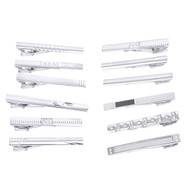 12pc Assorted Tie Bars Set TB1301-D