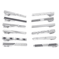 12pc Assorted Tie Bars Set TB1301-F