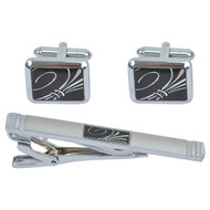 Cufflink and Tie Bar Set CTB2514