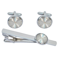 Cufflink and Tie Bar Set CTB2521