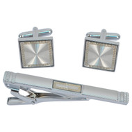 Cufflink and Tie Bar Set CTB2523