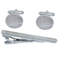 Tie Bar and Cufflink  Set CTB2538