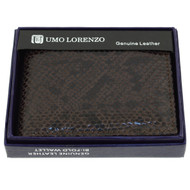 Bi-Fold Genuine Leather Wallet MGLW-A26