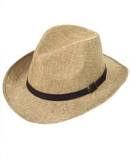 6 Pack Brim Fedora Hats - H9213