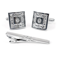 Cufflink and Tie Bar Set CTB2410