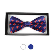 Men's Republican Banded Bow Tie