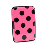 12pc Pack Card Guard Aluminum Compact Wallet Credit Card Holder with RFID Protection - Dot